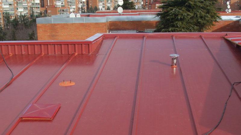 Trabajos verticales en edificaciones reparación de cubiertas