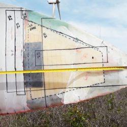 Reparación de palas instalación eólica estructura de pala